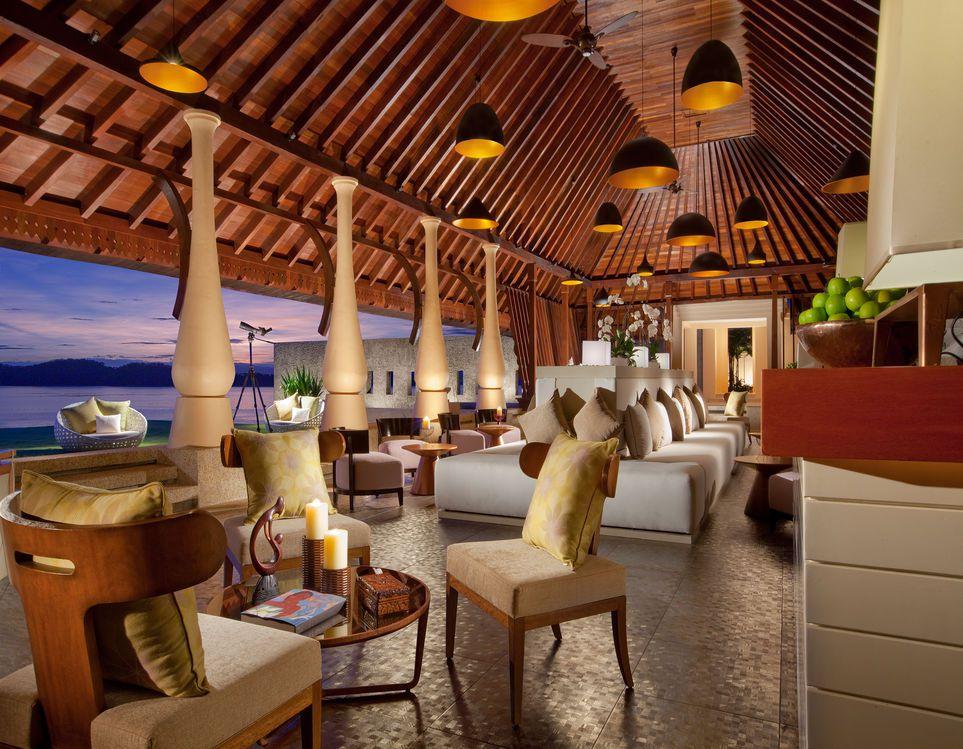 Lobby, Gaya Island Resort