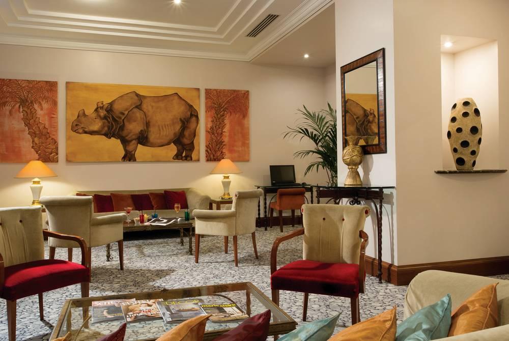 Lobby, Hotel dei Mellini