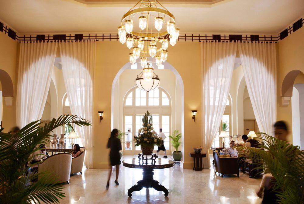 Lobby, Raffles, Phnom Penh, Cambodia
