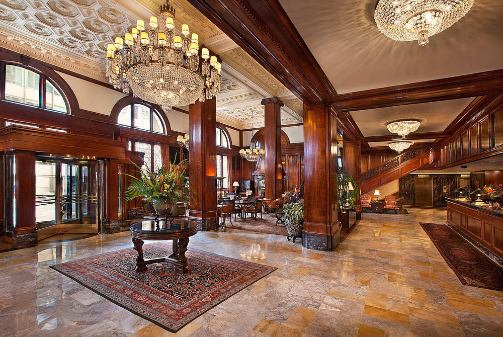 Lobby, The Benson, Portland, Oregon