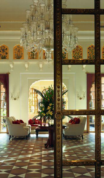 Lobby, The Oberoi Rajvilas, Jaipur, Rajasthan India