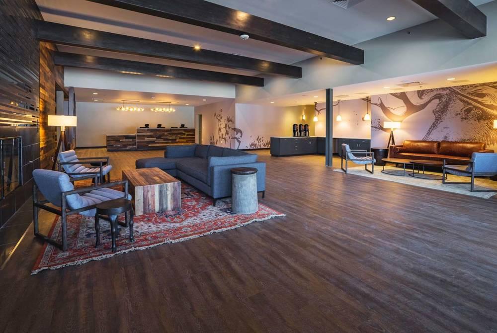 Lobby, The Ridgeline Hotel, Estes Park, Colorado