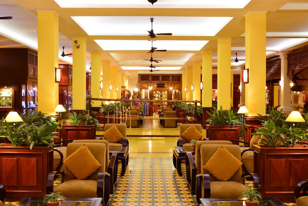 Lobby, Victoria Can Tho, Mekong Delta, Vietnam