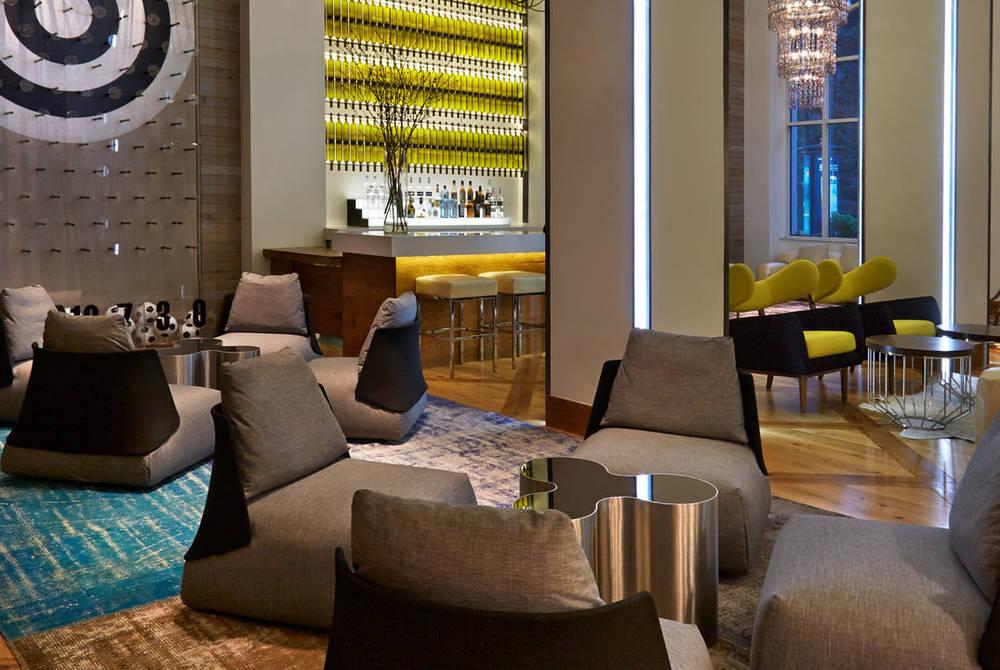 Lobby, Hotel Zetta, San Francisco
