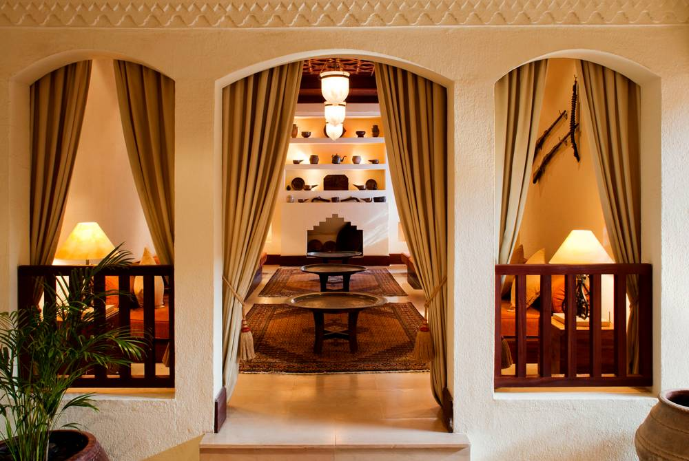 Lobby lounge, The Al Maha Desert Resort, Dubai