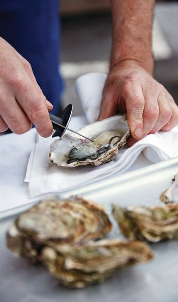 Local Irish oysters – Belmond Grand Hibernian