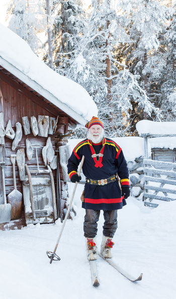 Local Sami people with Loggers Lodge