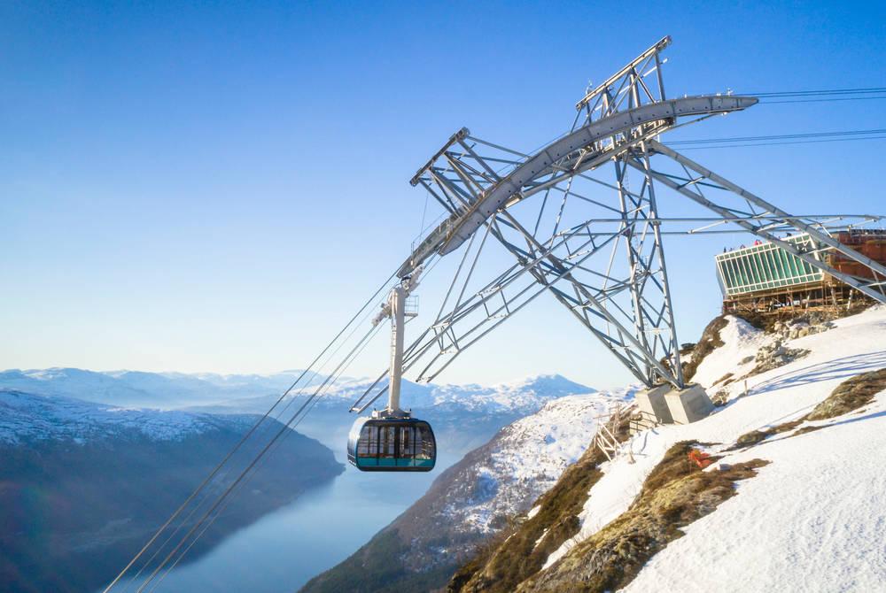Loen Skylift, Norway
