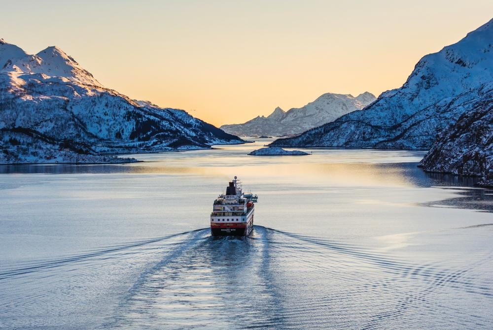 Hurtigruten cruise in Norway's fjords