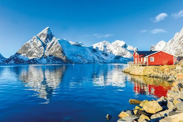 Winter in Lofoten Islands, Norway