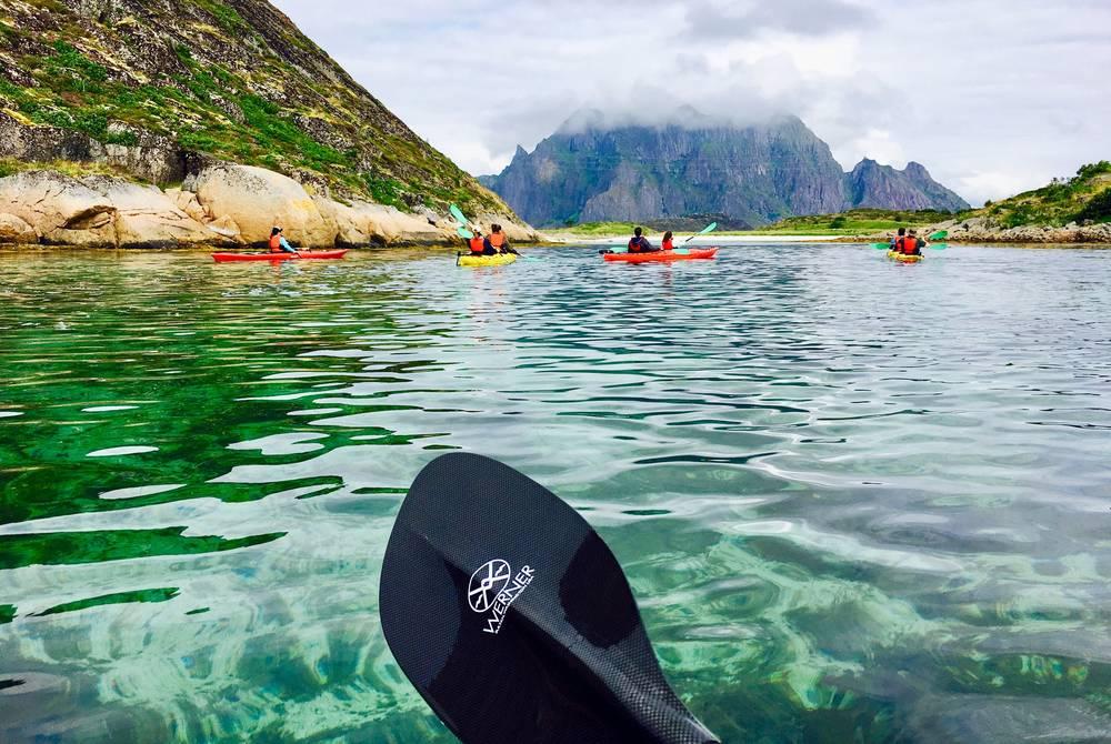 Kayaking, Lofoten Islands