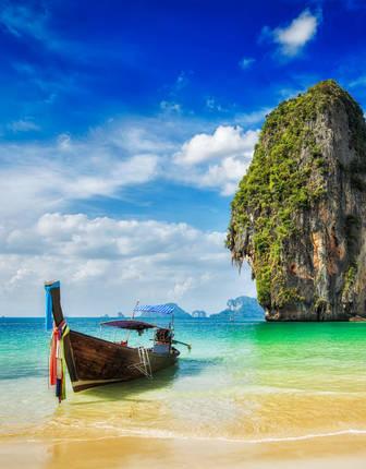 Longtail boat, Krabi