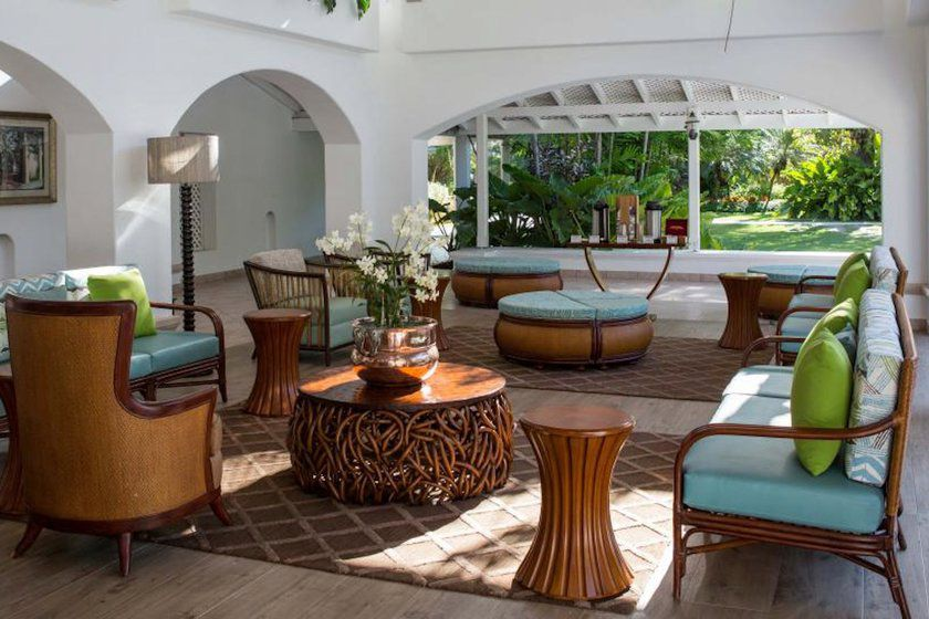 Lounge Area, Colony Club, Barbados