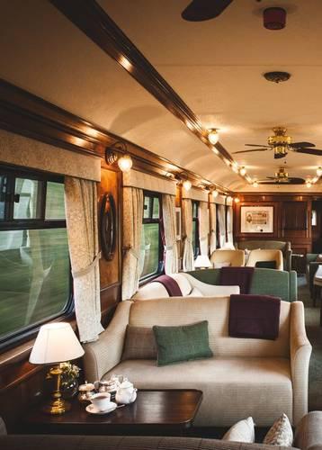Lounge, Belmond Royal Scotsman