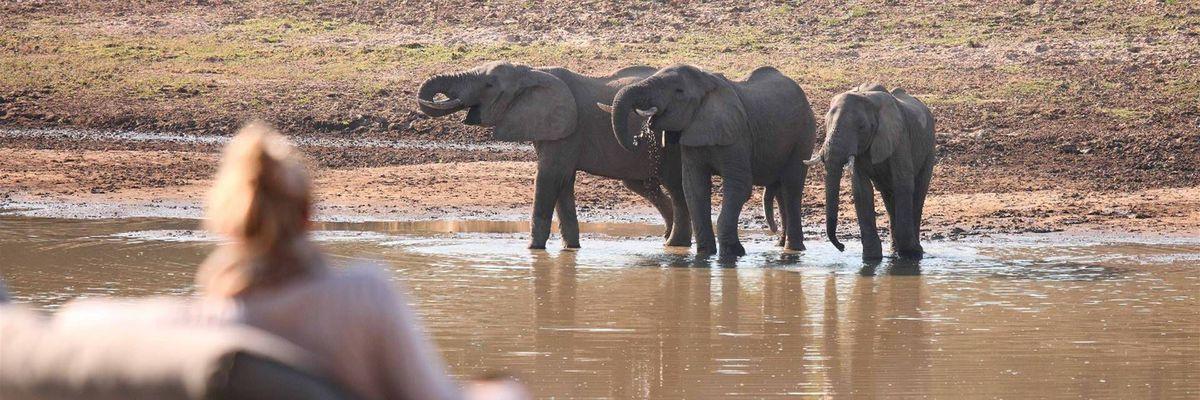 Lounge, Chinzombo, South Luangwa National Park