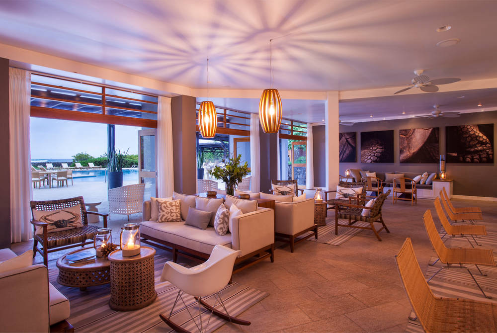Lounge, Finch Bay Eco Hotel, Puerto Ayora, Galapagos