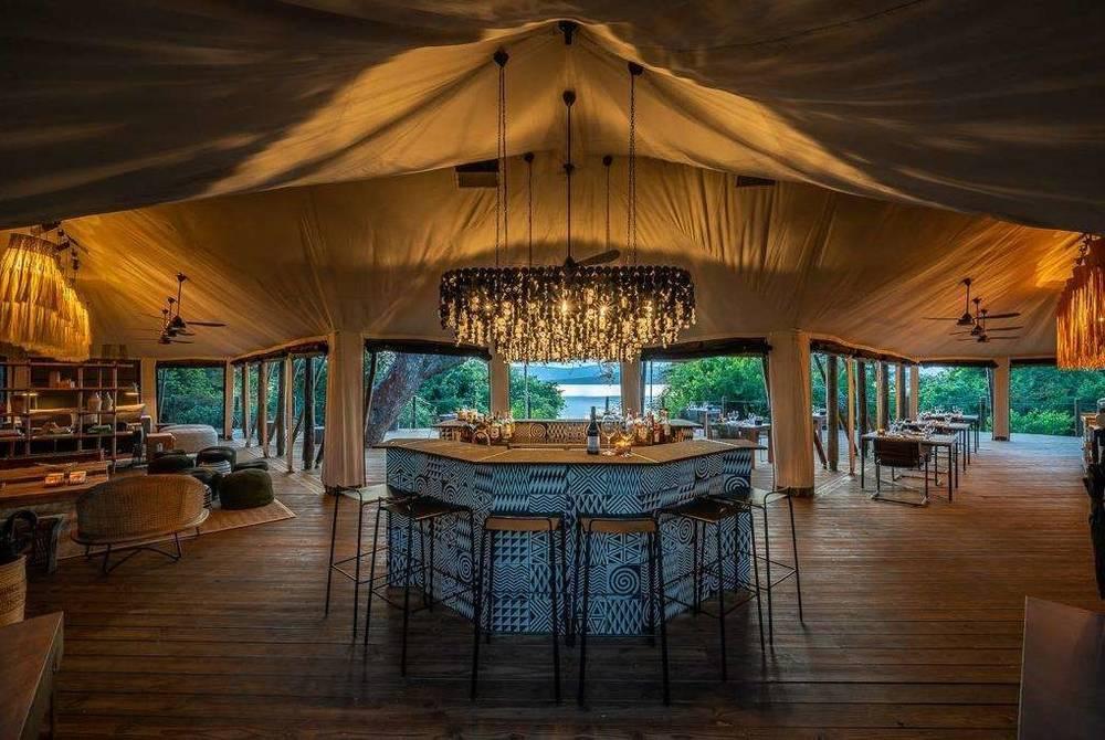 Lounge, Magashi Camp, Akagera National Park, Rwanda