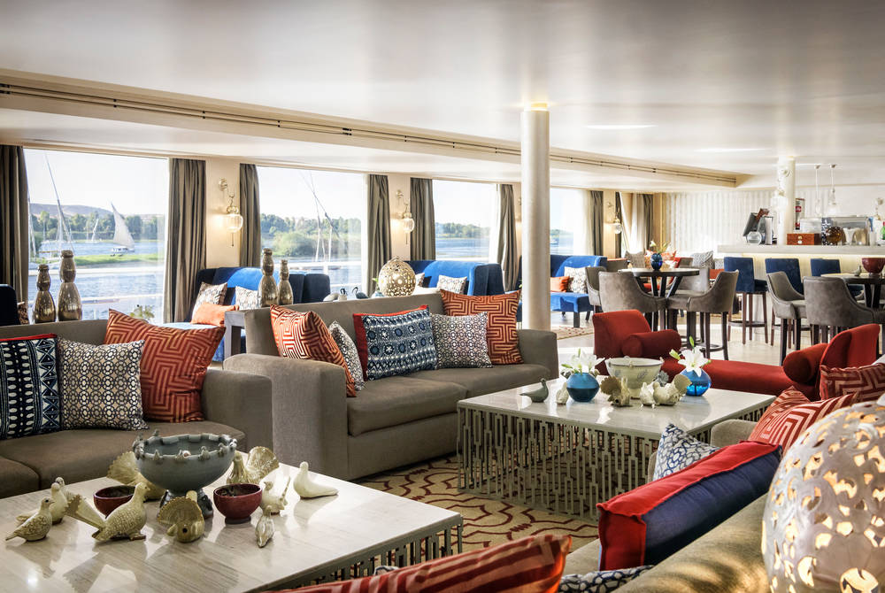 Lounge area, Sanctuary Sun Boat IV