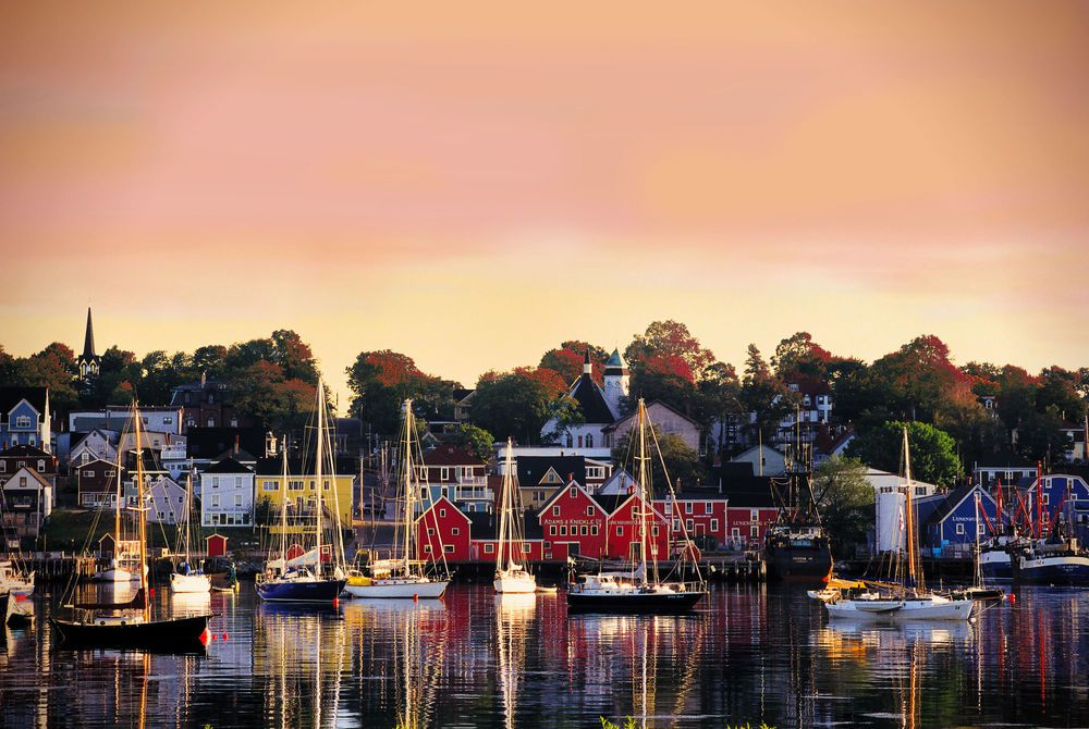 Lunenburg Harbour, Nova Scotia