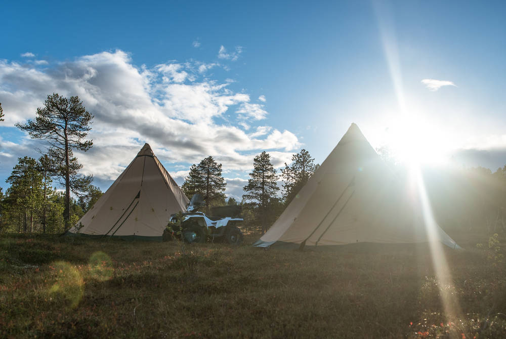 And in summer, Wilderness Teepee Camp