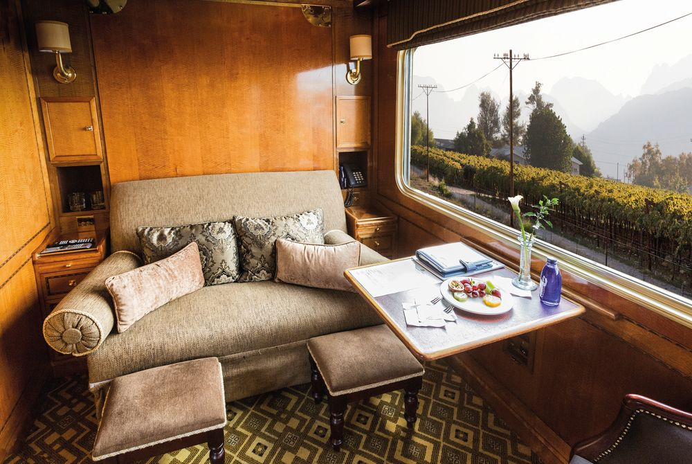Luxury Suite, Blue Train