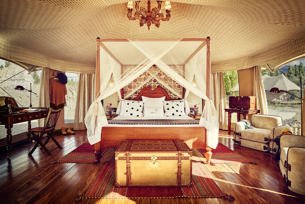 Chamba Camp Luxury Suite Tent