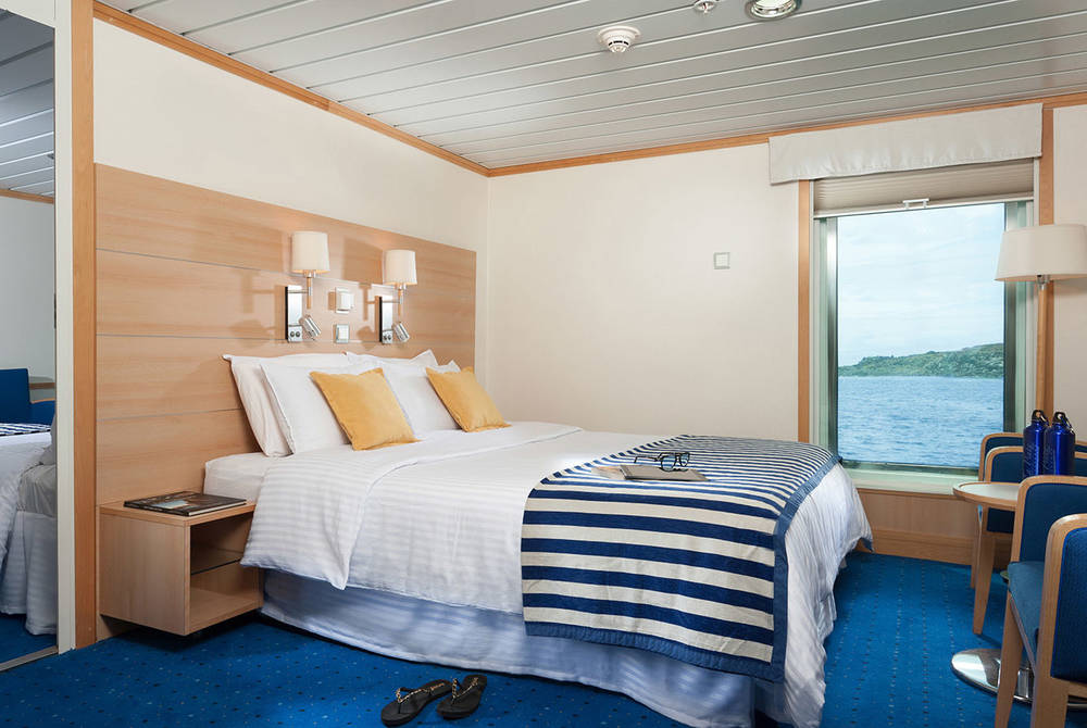 Luxury cabin, La Pinta Yacht, Galapagos