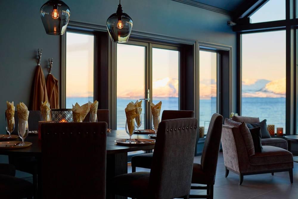 Restaurant, Lyngen Experience Lodge