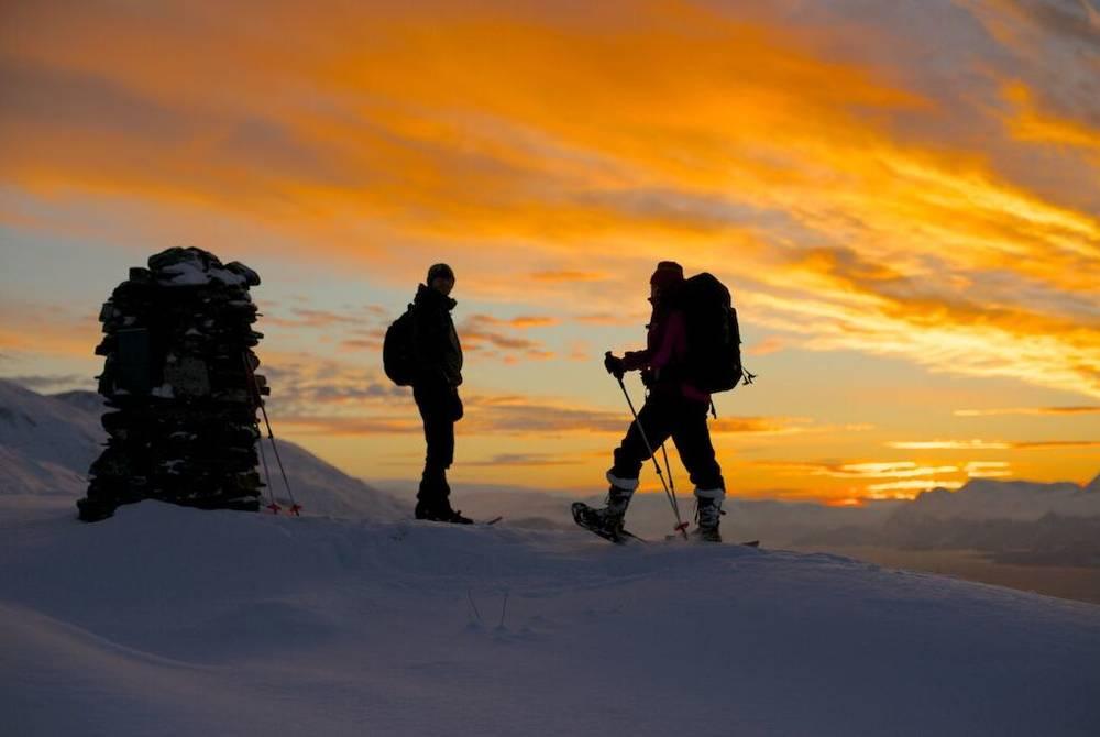 Snowshoeing Excursion, Lyngen Lodge