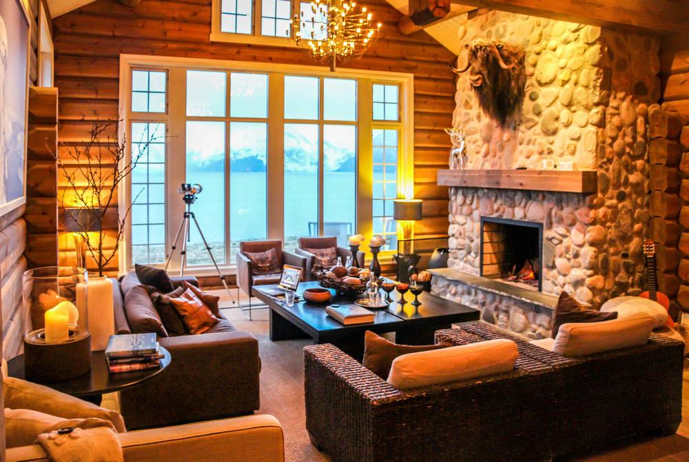 Lounge Area, Lyngen Lodge