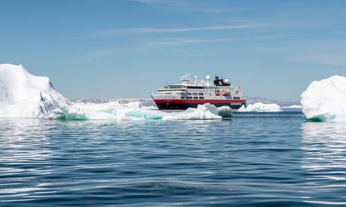 MS Fram, Ilulissat, Greenland
