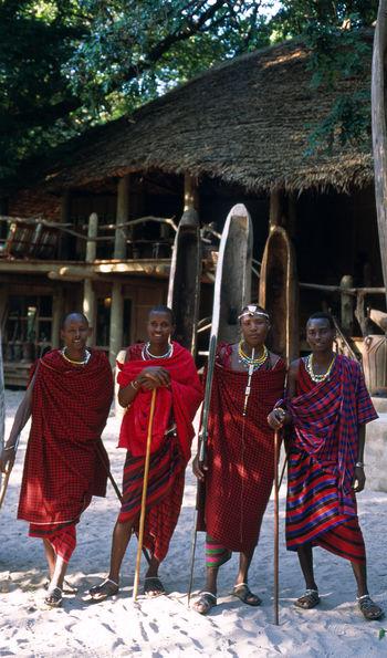 Maasai guides