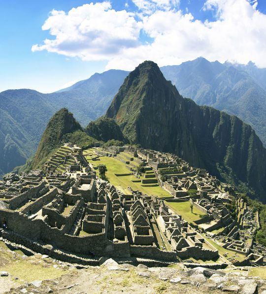 That famous shot of Peru's Machu Picchu