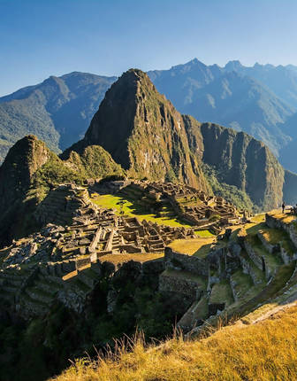 Sunrise over Machu Picchu, Peru