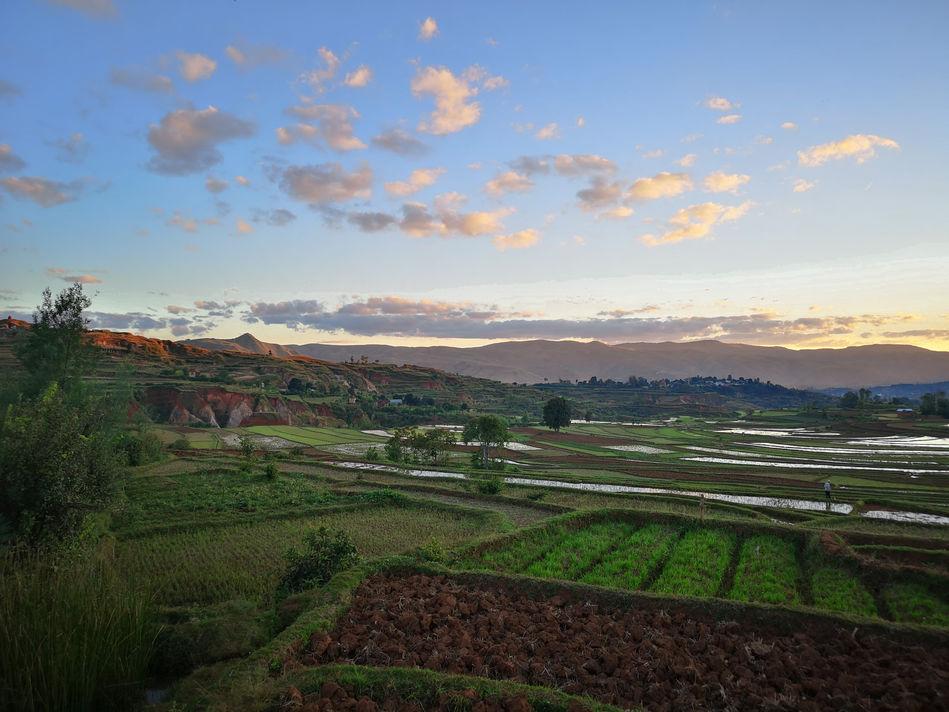 Madagascan village
