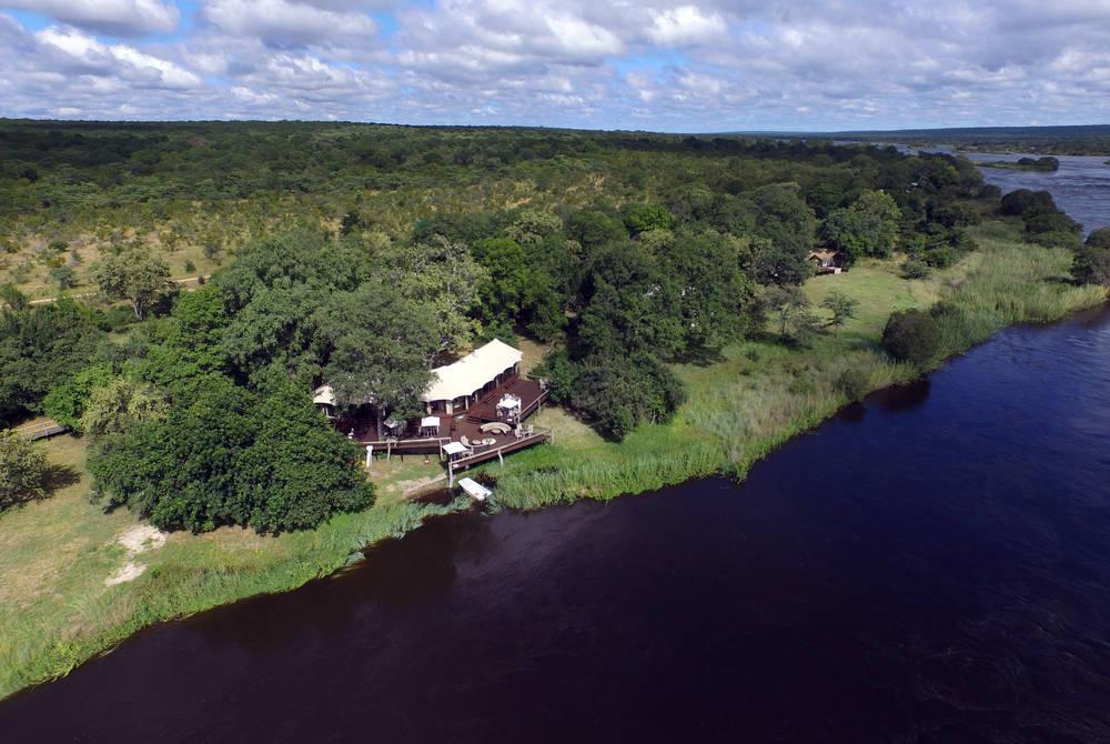 Main Lodge Guest Area, Zambezi Sands
