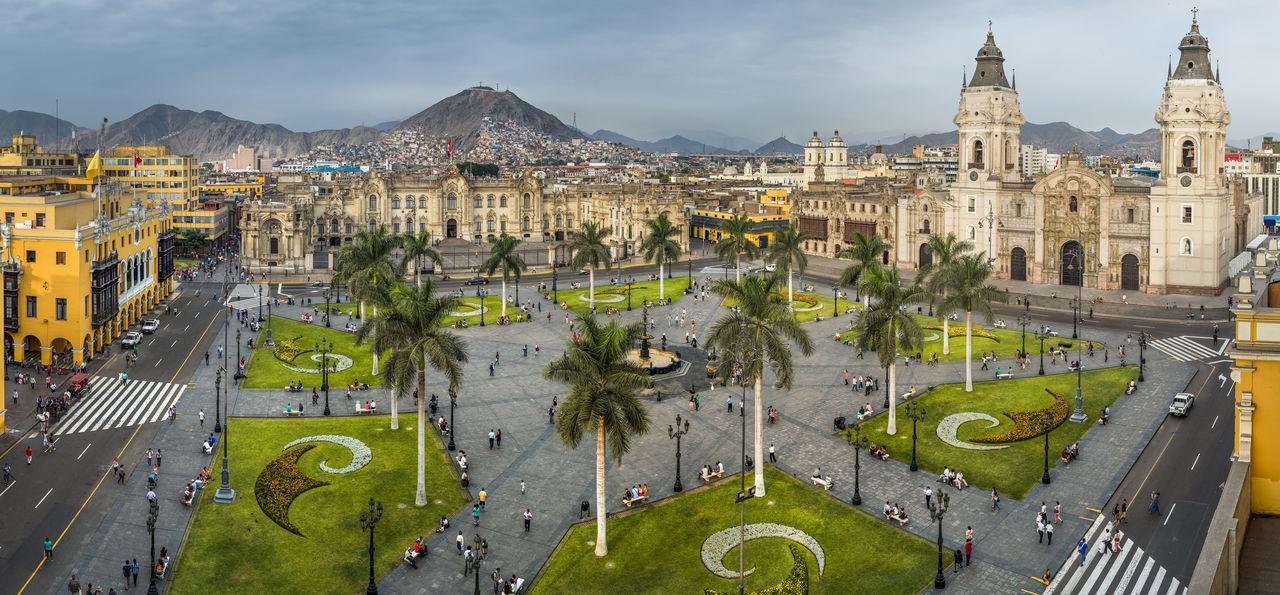Main Square, Lima, Peru