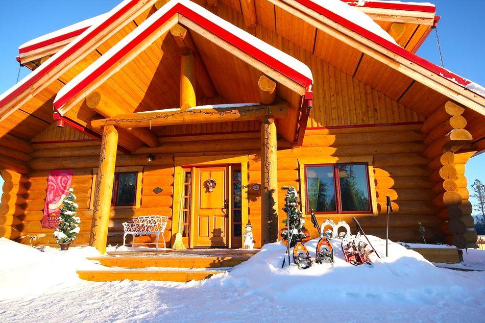 Main lodge, Northern Lights Resort & Spa