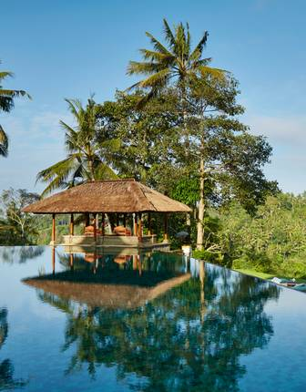 Main pool, Amandari, Ubud