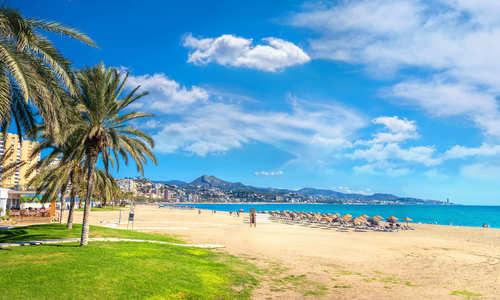 Málaga beach