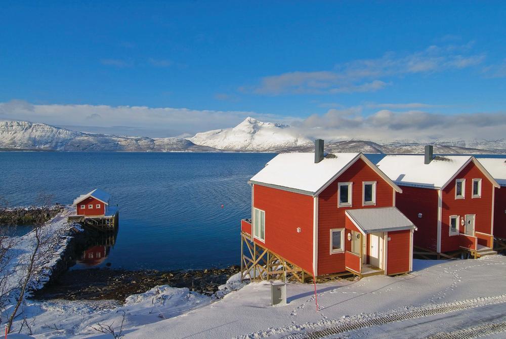 Winter at Malangen Resort, Norway