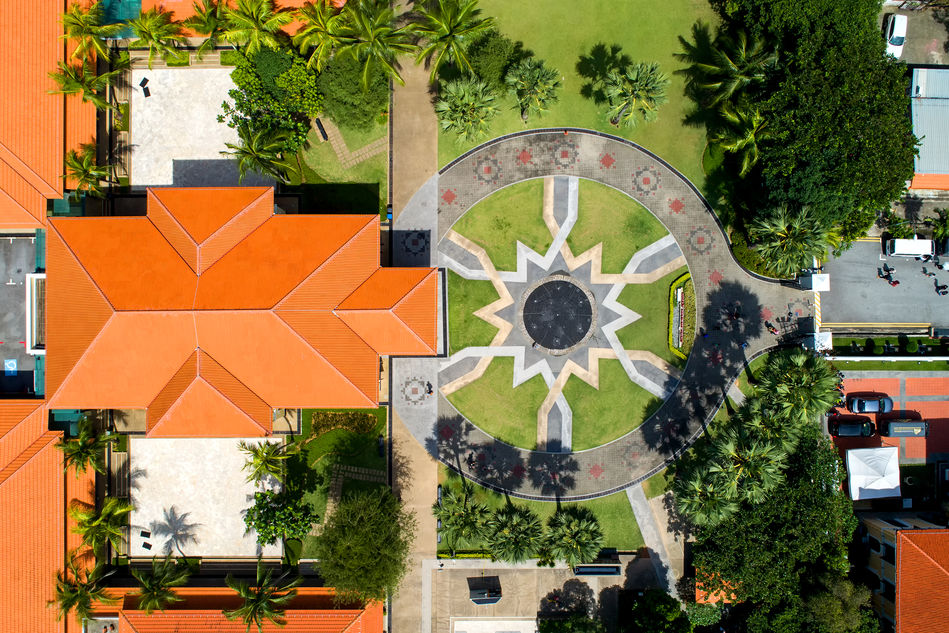 The Malay Heritage Centre from above