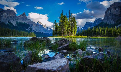 Maligne, Lake Alberta