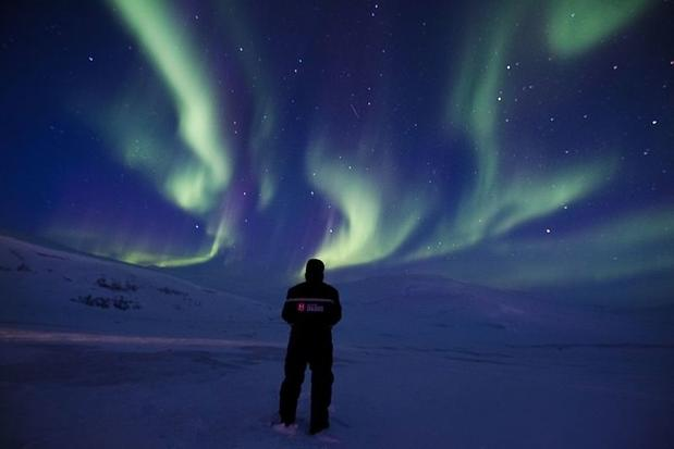 Northern Lights and the Polar Night in Svalbard