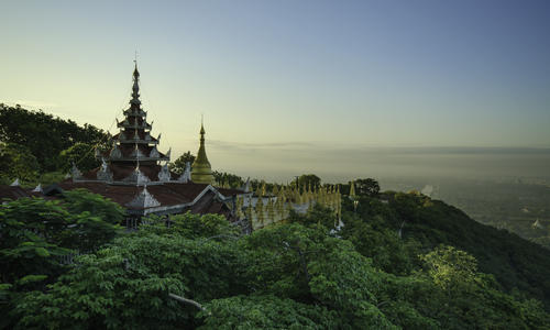 Picture of Pagan and The Upper Irrawaddy (Downstream)