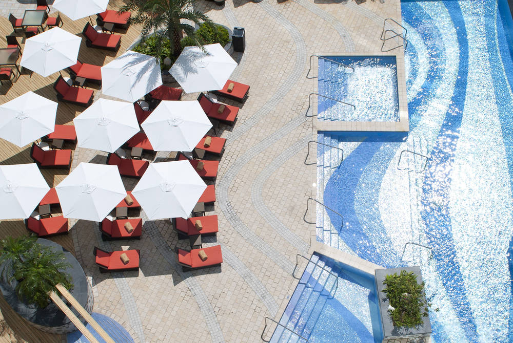 Pool Area, Mandarin Oriental