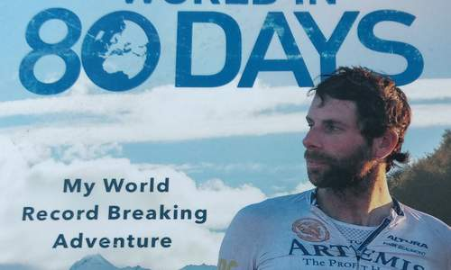 Around the world in 80 days: Mark Beaumont sets a new world record