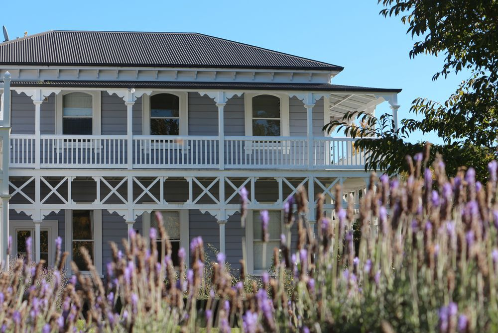 Marlborough Lodge garden, New Zealand