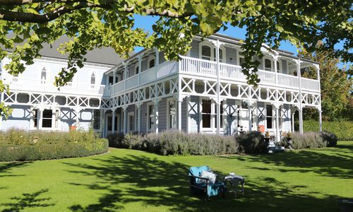 Marlborough Lodge grounds, New Zealand