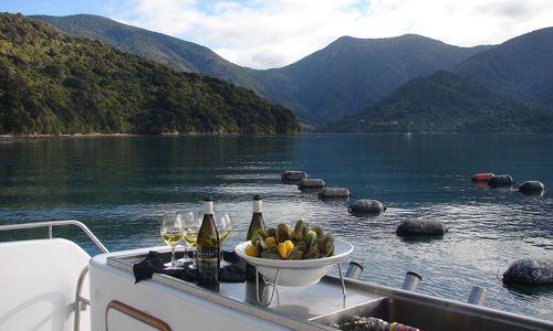 Marlborough Sounds Gourmet Seafood Cruise